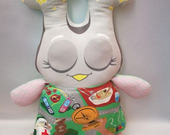 50% discount MiBoo Owl Doll 4 in 1  Collection My Trips Rag Doll