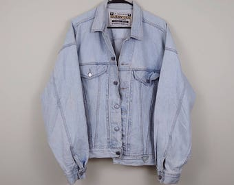 GUESS by Georges Marciano 80's Vintage Denim Jacket Size Large