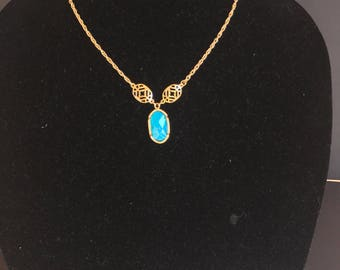 Turquoise Necklace by Dobka