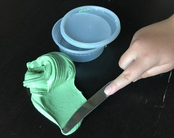 Green Tea Butter Slime