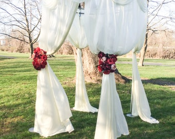 Round Canopy/Chuppah for RENT in DMV Metro Area- Perfect Addition to a Perfect Wedding