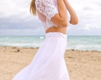 Beach Wedding Dress - Nerida