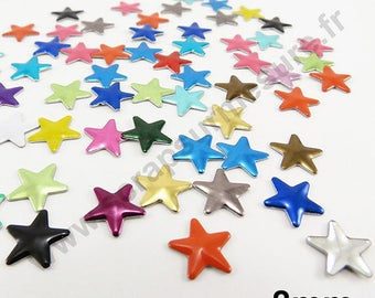 Star Thermo - MULTICOLORED - 8mm - x 75pcs