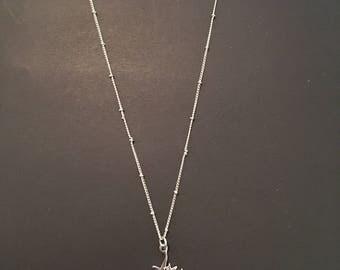 Jewel charm necklace