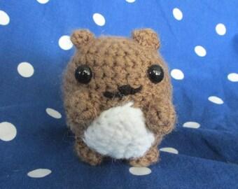 Chubby Squirrel Plush