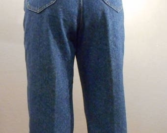 Vintage Lee Jeans Denim/waist 31/ high waisted mom jeans 90s denim