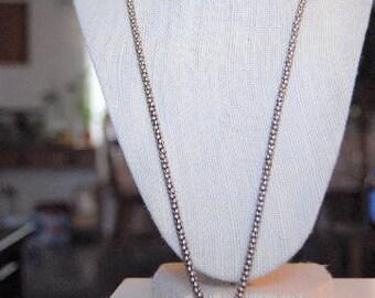 Big Circle Pendant Necklace