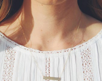 The Horizontal Necklace