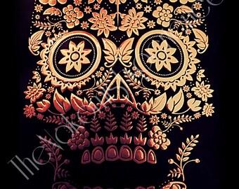 Rose gold bones