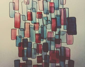 Abstract shapes.