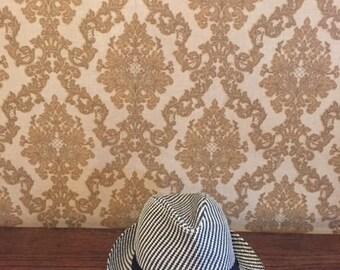 Black White Hat Large