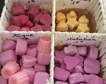 Small wax melt scented for burners