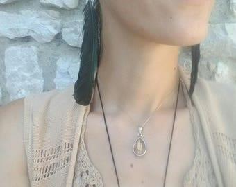 Wild Medium Jay Feathers Earrings (Pair)
