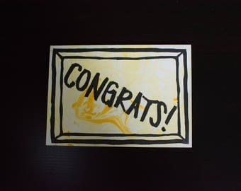 5ct Congratulations Greeting Card