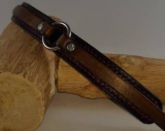 7 3/4 inch Leather Bracelet