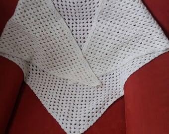 woman shawl