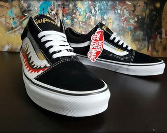 Custom vans old skool shoes