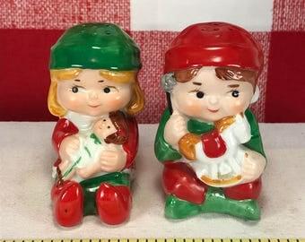 Vintage Avon Elf Salt and Pepper Shakers 1983
