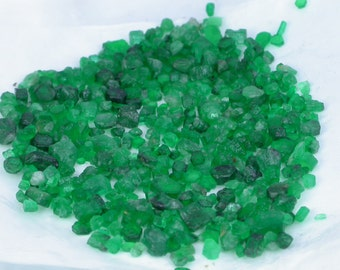 34ct Beautiful Rough Natural Emerald lot from Swat Pakistan