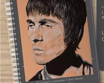 Liam Gallagher Artowrk Note Pad