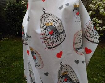 Nursing open bird prints