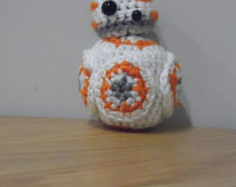 Star Wars Crochet - BB8 with magnetic moveable head