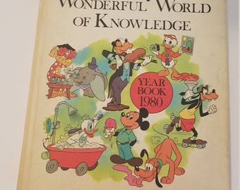 Disney's Wonderful World of Knowledge 1980 Year Book