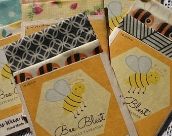 Beeswax Food Wraps (Twin Pack Small)