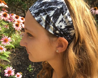 Black Granite Headband