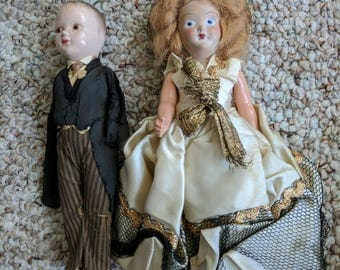 Vintage Marci Doll and Husband