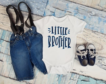 Little Brother Baby Bodysuit, Baby Boy, Baby Clothes, Baby Gift, Baby Shower, Coming Home, Sibling