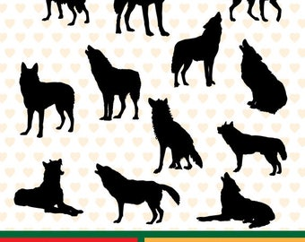 Wolves sale, eps, svg, png and jpg files high resolution CL-SP-106