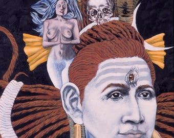 The Face of Shiva