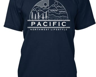 Pacific NorthWest T Shirt - Pacific NorthWest Lifestyle - Pacific NorthWest Clothing - PNW Tshirt - PNW Clothes - PNW Clothing - pnw shirt