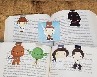 Star Battles - Geeky MagMarks - Magnetic Bookmarks