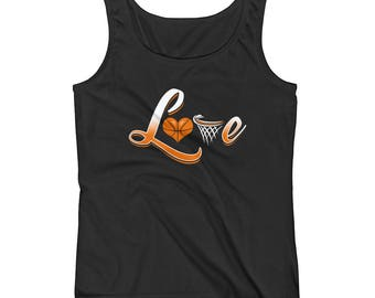 Love Basketball Ladies' Tank