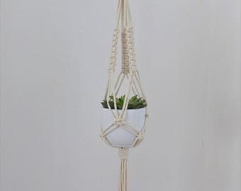 Suspension macrame etsy - Faire macrame suspension ...