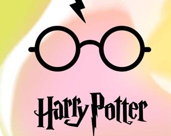 Harry potter vector - Clip Art - svg, png, eps, dxf