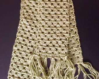 Forest Green Fall Scarf 83in