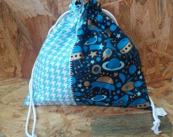 Snack bag / backpack space blanket