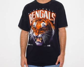 90s, Cincinnati Bengals, Tiger, Safari, Bengal Tiger, Jungle, Gameday, Football Season, NFL Football, Merch, Game Day, Football Sunday