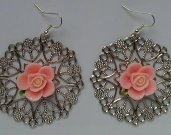 "Earrings ""rose"""