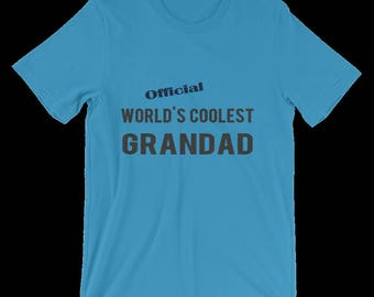 Grandpa T Shirt, Great For Grandpa's Birthday, Christmas, etc. Grandpa's Own Personalized Tee Shirt, A Humorous Joke Gift For Your Grandad