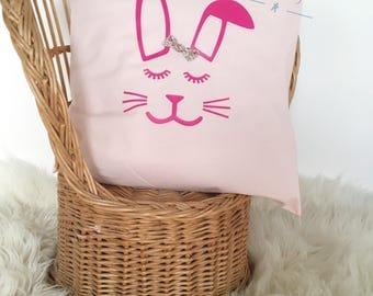 Bunny pin cushion