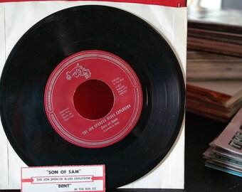 Jon Spencer Blues Explosion- Son of Sam/Bent 7 inch Record-1992 Alternative/Indie Rock-Garage/Lo-fi