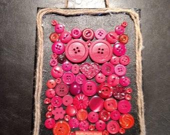 Button art-Red Owl