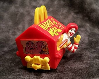 Vintage 90's Happy Meal Toy/ Ronald McDonald Train/ 90's Toy