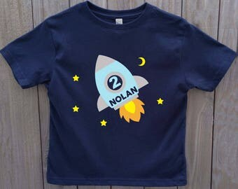 rocket birthday shirt, spaceship birthday shirt, space birthday, rocket shirt, rocket ship shirt, rocketship birthday shirt, birthday shirt