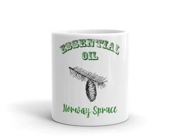 Essential Oil Norway Spruce Mug