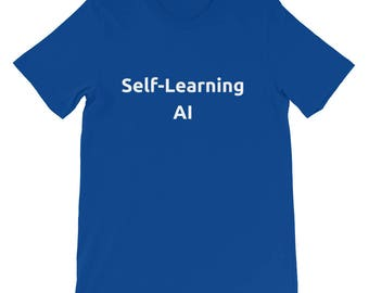Self-Learning AI Short-Sleeve Unisex T-Shirt